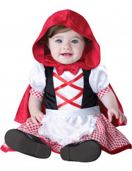 Kostume mini-rødhætte baby - Premium