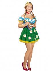 Bayersk kjole med tusindfryd