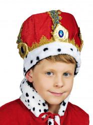 Krone rød kejser til børn