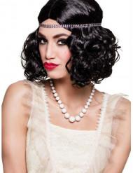 Halskæde kort med hvide perlemorsperler til kvinder