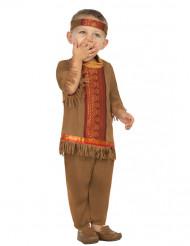 Indianerkostume med Frynser Spædbarn