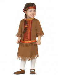 Kostume indianer med frynser til babyer