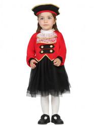 Kostume piratkaptajn til babyer