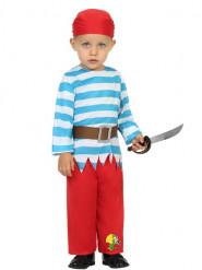 Pirat Skipperdrengskostume Spædbarn
