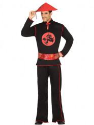 Kostume kinesisk sort til mænd