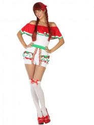 Mexicansk inspireret kostume med shorts