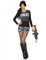 SWAT militær kostume dame