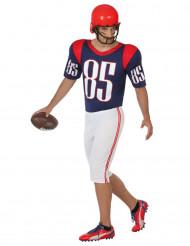 Kostume amerikansk fodboldspiller