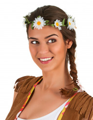 Blomsterkrone margurit til voksne