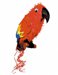Pirat pinata papegøje 38 x 38 cm