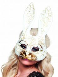 Halvmaske venetiansk kanin voksne