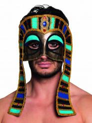 Halvmaske egyptisk farvet voksne