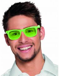 Briller neon grønne 50