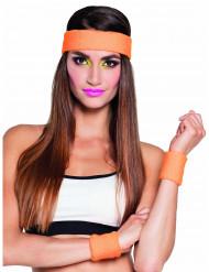 Pandebånd og håndledsbind orange 80
