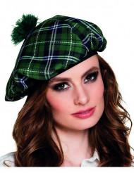 Baret skotsk grøn til voksne