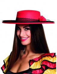 Hat danserinde spansk rød til kvinder