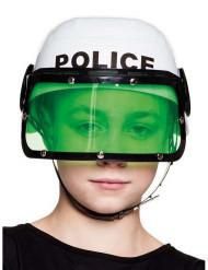 Hjelm politi hvid til børn