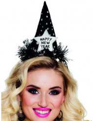 Hat Happy new year sort til voksne