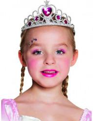 Diadem hjerteprinsesse til piger