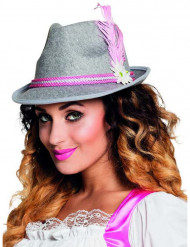 Hat bayersk pink til voksne