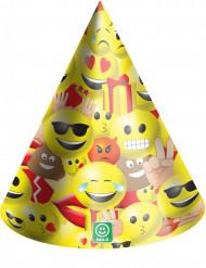 6 Festhatte i karton Imoji™