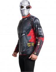 Kostume t-shirt og hætte voksen Deadshot - Suicide Squad™