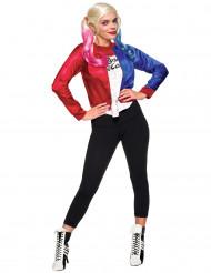Kostume Harley Quinn jakke og t-shirt - Suicide Squad™