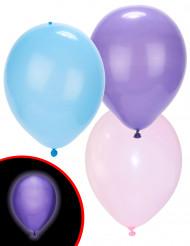 5 stk Balloner med LED i pastel farver - Illooms™