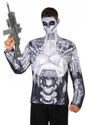 Robot T-shirt herre