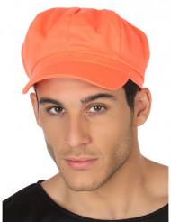 Kasket neon orange til voksne