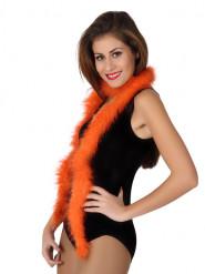Fjerboa orange 185 cm