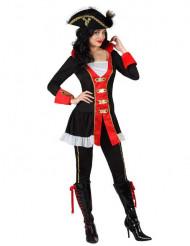 Kostume admiral pirat til kvinder