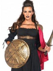 Kappe rød satin kriger til kvinder
