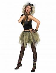 Kostume disko rock tutu 80er til kvinder