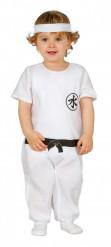 Kostume mester ninja hvid til babayer