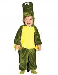Grøn Krokodilledragt Spædbarn