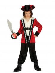 Kostume kaptajn dødningehoved til drenge