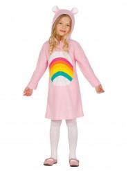 Regnbue bamse - Kjole til piger