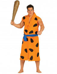 Orange hulemenneske kostume voksen