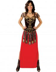 Kostume kriger med lang kjole