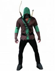 Maskerade bueskytte kostume voksen