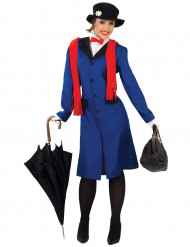 Engelsk sygeplejerske kostume kvinde