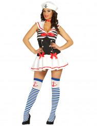 Kostume sexet sømand dame
