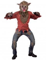 Stor styg ulv kostume voksen