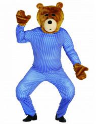 Teddybjørn tilbehørssæt hoved og hænder voksen