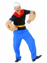 Kostume muskuløs sømand til voksne