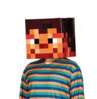 Hjelm pap pixelterning 30 X 30 cm voksne