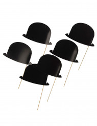 6 bowlerhatte til photobooth