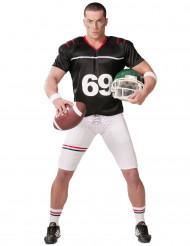 Amerikansk fodboldspiller kostume herre