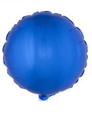 Blå aluminiumsballon